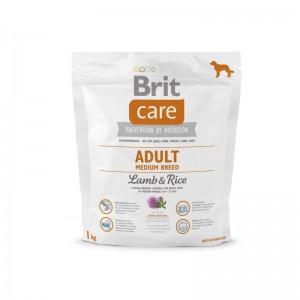 Brit Care Adult Medium Breed Lamb & Rice, 1 kg