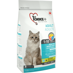 1St Choice Cat Adult Skin & Coat, 2.72 Kg