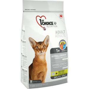 1St Choice Cat Adult Hypoallergenic, 5.44 Kg