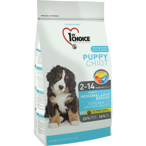 1St Choice Dog Puppy Medium & Large Breeds, 2.72 Kg