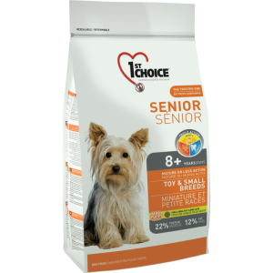 1St Choice Dog Senior Toy & Small Breeds, 2.72 Kg