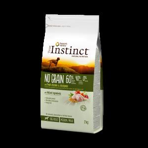 True Instinct Dog No Grain Pui & Naut, 2kg