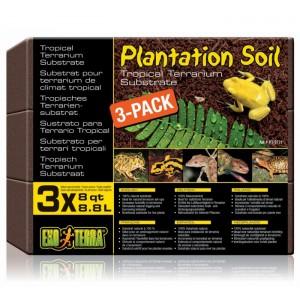 EXO TERRA ASTERNUT PLANTATION SOIL COMPACT 3 X 8.8L PT2771