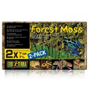 EXO TERRA ASTERNUT FOREST MOSS COMPACT 2x7L PT3095