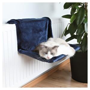 Sezlong Calorifer Pisica albastru