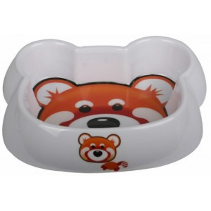 CASTRON MELAMINA DOG/CAT BEAR FACE 8028