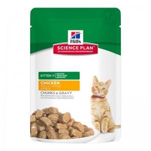Hill's SP Kitten hrana pentru pisici cu pui 85 g (plic)