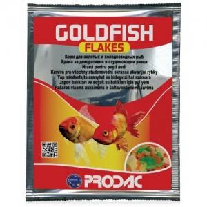 Hrana pentru pesti, Prodac Goldfish Flakes, 12 g