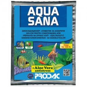 Solutie pentru conditionarea apei, Prodac Aqua Sana, 25 ml