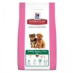 Hill's SP Puppy Small and Miniature hrana pentru caini cu pui 1.5 kg