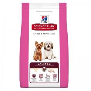 Hill's SP Adult Small and Miniature hrana pentru caini cu pui 6.5 kg
