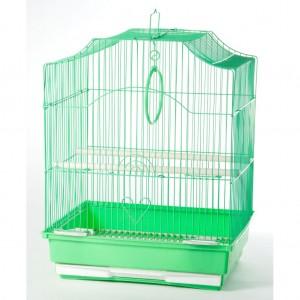 Colivie simpla Verde, 35 x 28 x 43 cm