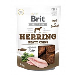 Brit Dog Jerky Herring Meaty Coins, 80 g