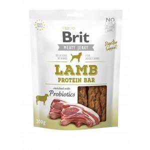 Brit Dog Jerky Lamb Protein Bar, 200 g