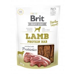 Brit Dog Jerky Lamb Protein Bar, 80 g