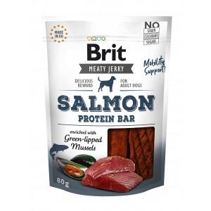 Brit Dog Jerky Salmon Protein Bar, 80 g