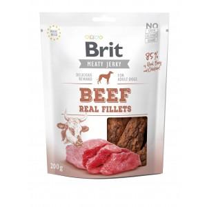Brit Dog Jerky Beef Fillets, 200 g