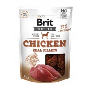 Brit Dog Jerky Chicken Fillets, 80 g