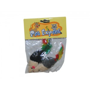 Hong Jucarie pisica soricel blanita x 2 / 42005