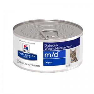 Hill's PD m/d Diabetes, Weight Management hrana pentru pisici 156 g