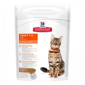 Hill's SP Adult Optimal Care hrana pentru pisici cu miel 400 g