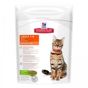 Hill's SP Adult Optimal Care hrana pentru pisici cu iepure 400 g