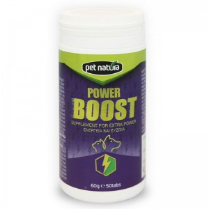 Pet Natura Power Boost, 50 tbl