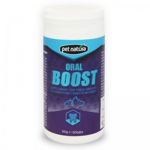 Pet Natura Oral Boost, 50 tbl