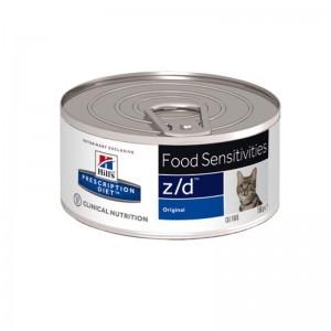 Hill's PD z/d Food Sensitivities hrana pentru pisici 156 g
