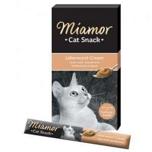 Recompensa pisici, Miamor Snack cu ficat, 90 g