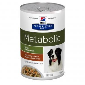 Hill's PD Metabolic hrană pentru câini cu pui și legume, 354 g