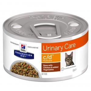 Hill's PD c/d Urinary Care hrana pentru pisici cu pui 156 g