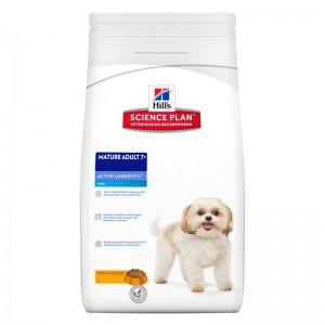 Hill's SP Mature Adult 7 Plus Active Longevity Mini hrana pentru caini cu pui 3 kg