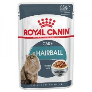 Royal Canin Hairball Care în sos
