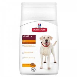 Hill's SP Adult Light Large Breed hrana pentru caini cu pui 12 kg