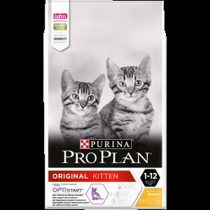 PRO PLAN Cat Original Kitten Chicken, 10 kg - sac