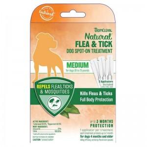 Pipeta antiparazitara, Tropiclean Medium Dog Spot-On, 3ml x 3 buc