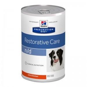 Hill's PD n/d Restorative Care hrana pentru caini 360 g