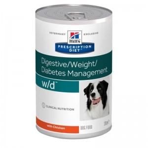 Hill's PD w/d Digestive, Weight, Diabetes Management hrana pentru caini 370 g