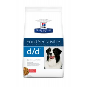 Hill's PD d/d Food Sensitivities cu somon si orez, 5 kg