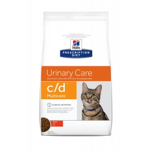 Hill's PD c/d Urinary Care  hrana pentru pisici cu pui