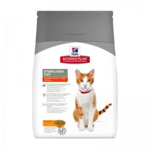 Hill's SP Sterilised Cat Young Adult hrana pentru pisici cu pui 3.5 kg