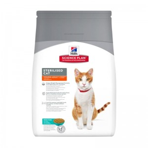 Hill's SP Sterilised Cat Young Adult hrana pentru pisici cu ton 1.5 kg