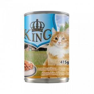 King Cat, carne de pasare, 415 g