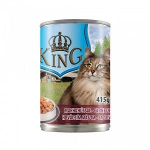 King Cat, carne de vita, 415 g