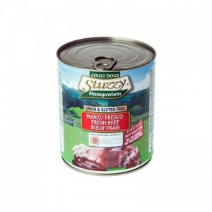 Hrana umeda caini, Stuzzy Monoprotein cu vita, 400 g