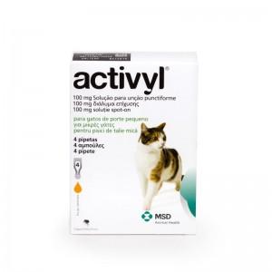 Activyl Cat ( 4kg), 4 pipete