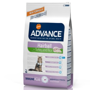 Advance Cat Hairball Curcan & Orez 1.5 kg