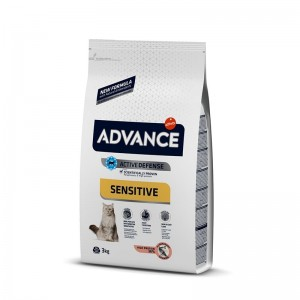 Advance Cat Adult Somon Sensitive 3 kg