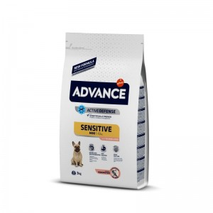 Advance Dog Mini Sensitive Somon & Orez, 3 kg
